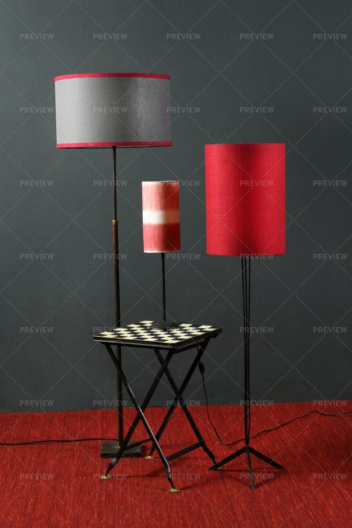 Striking Interior Lamps: Stock Photos