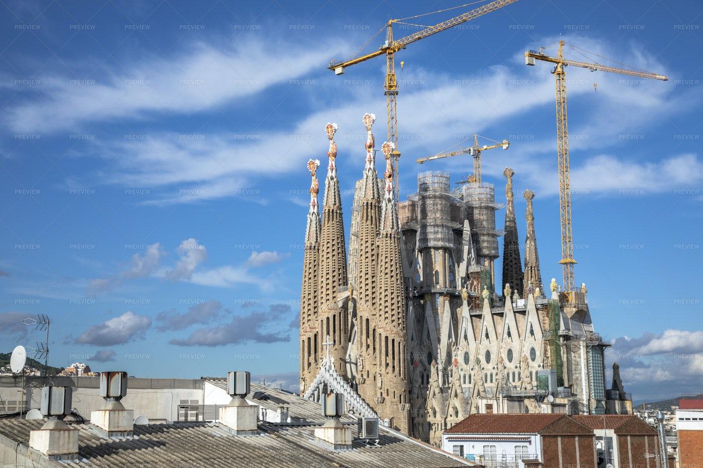 Sagrada Familia Cathedral: Stock Photos