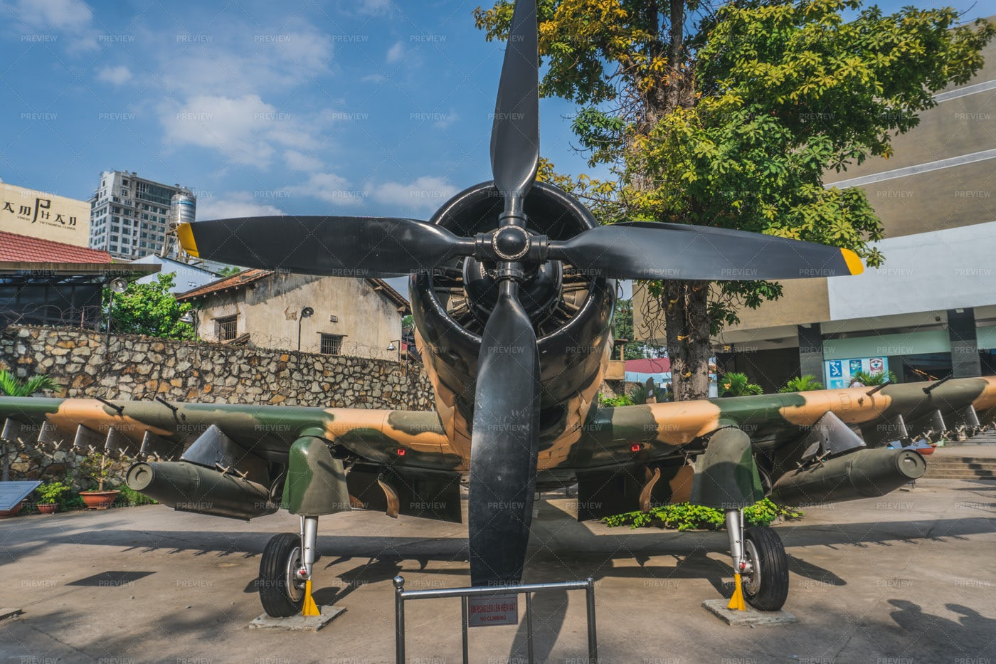 War Museum In Ho Chi Minh: Stock Photos