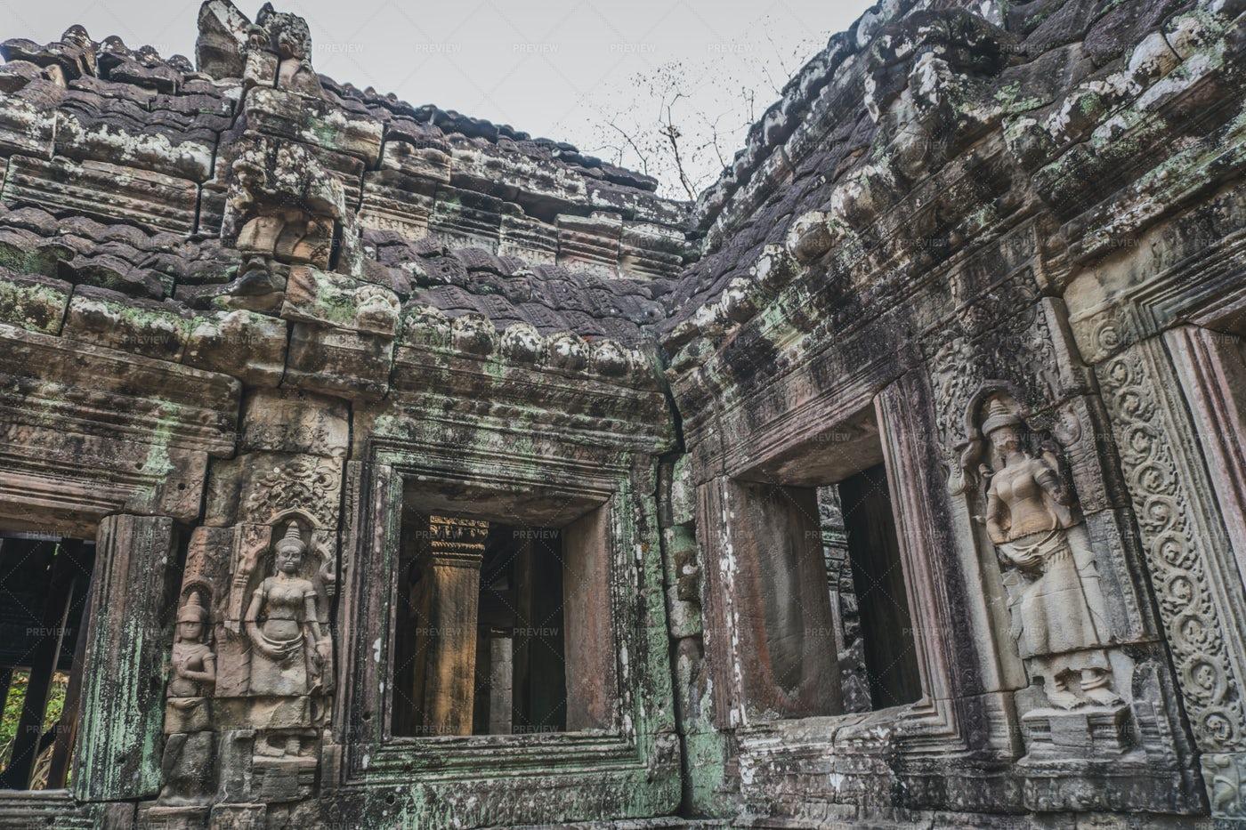 Banteay Kdei Temple: Stock Photos
