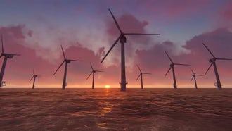Offshore Wind Farm: Motion Graphics