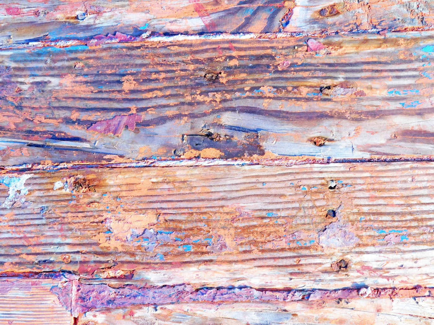 Colorful Wooden Planks: Stock Photos
