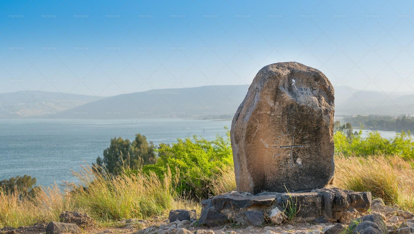 Mount Of The Beatitudes: Stock Photos