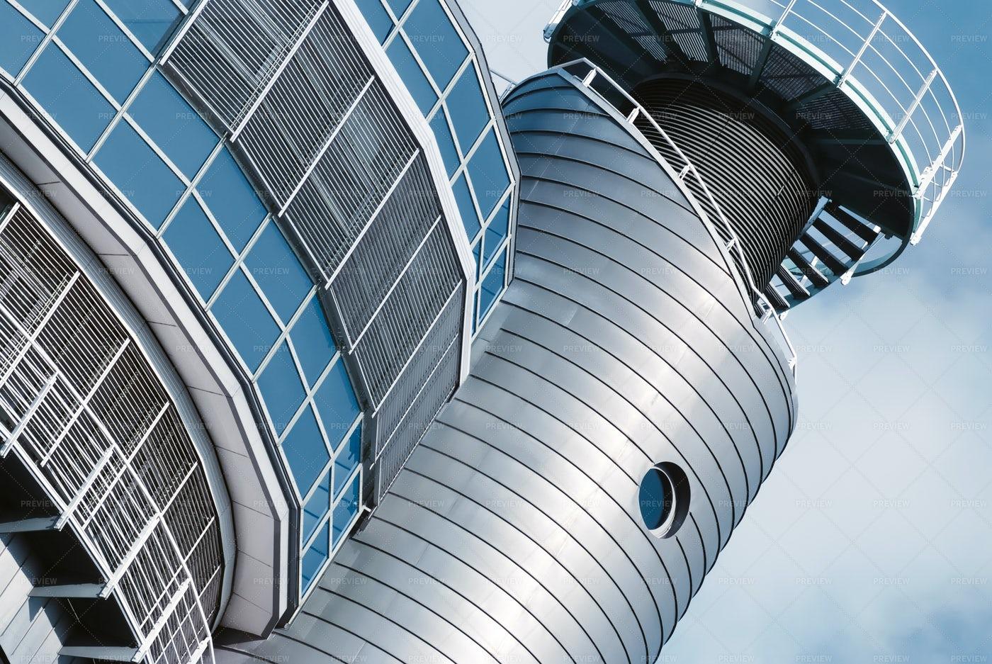 A Modern Building: Stock Photos