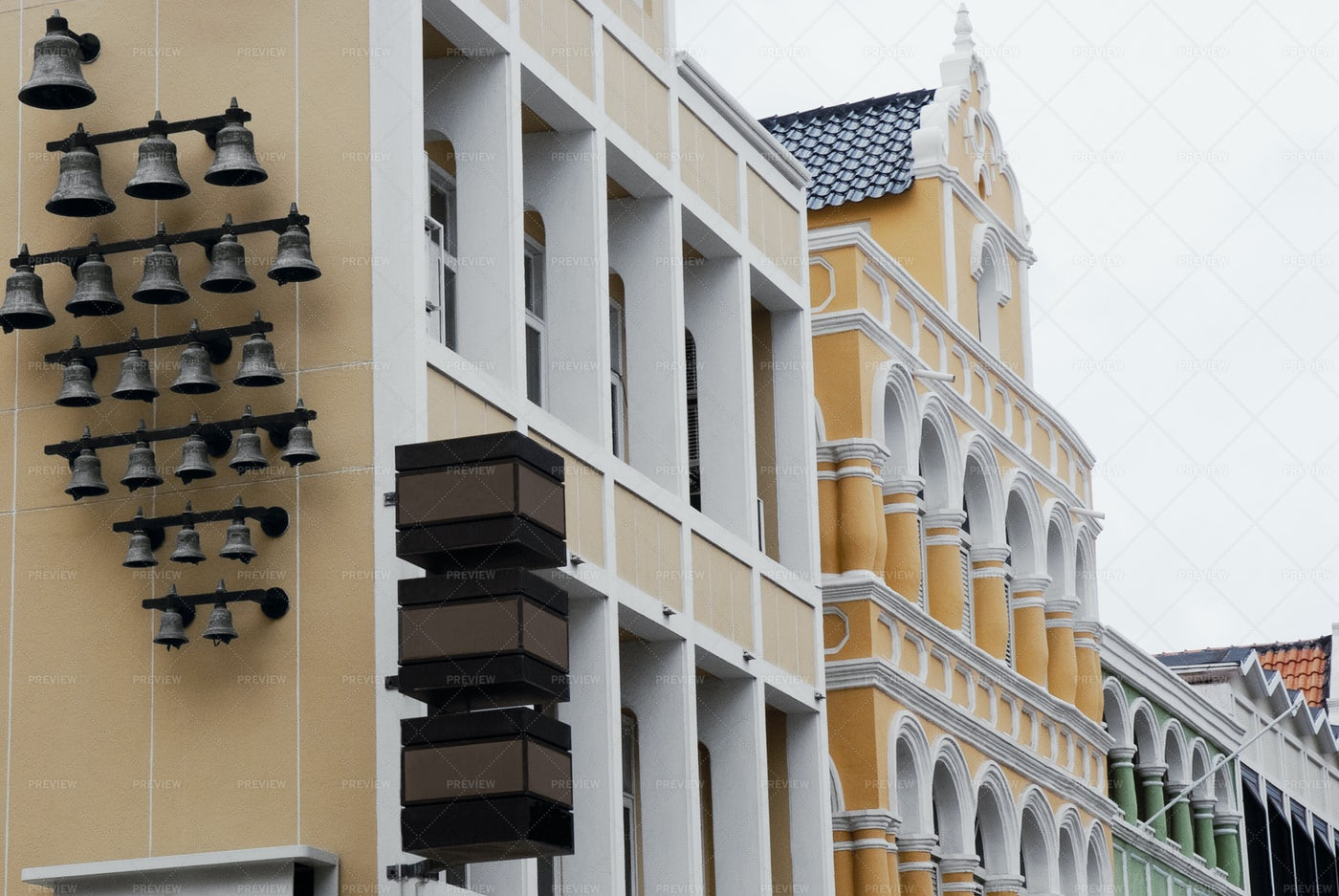 Architecture In Curacao: Stock Photos