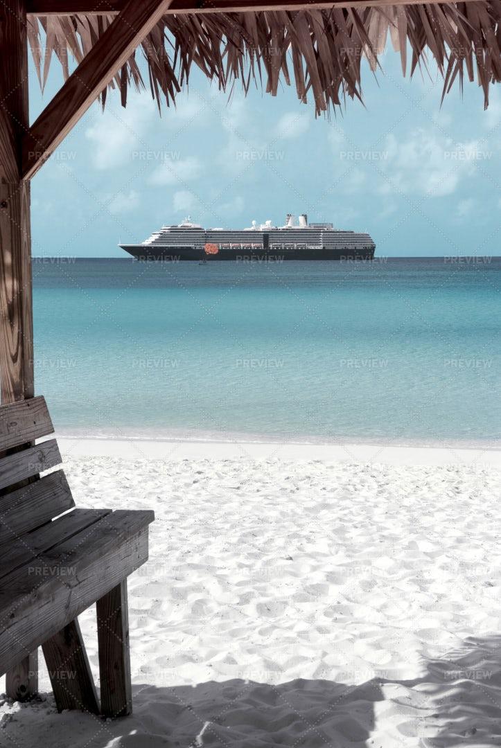 Caribbean Sand Beach: Stock Photos