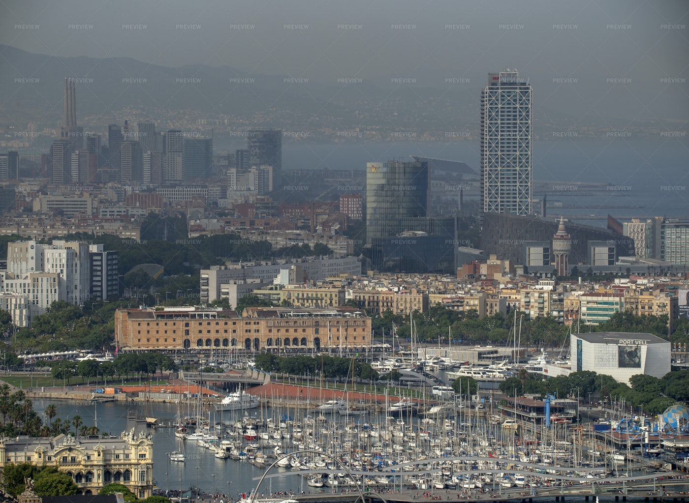 Barcelona Port: Stock Photos