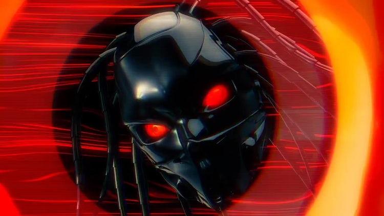 Cyborg Eye Tunnel Loop: Stock Motion Graphics