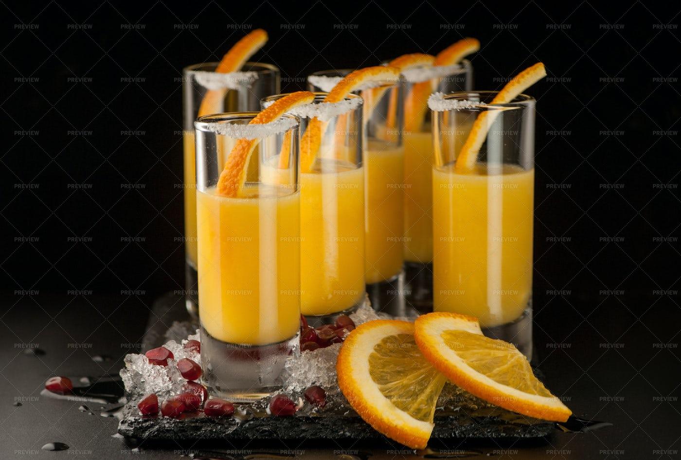 Fresh Beverages: Stock Photos