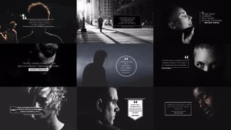 4K Quotes: After Effects Templates