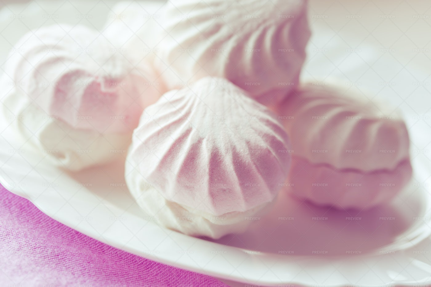Pink Macarons: Stock Photos