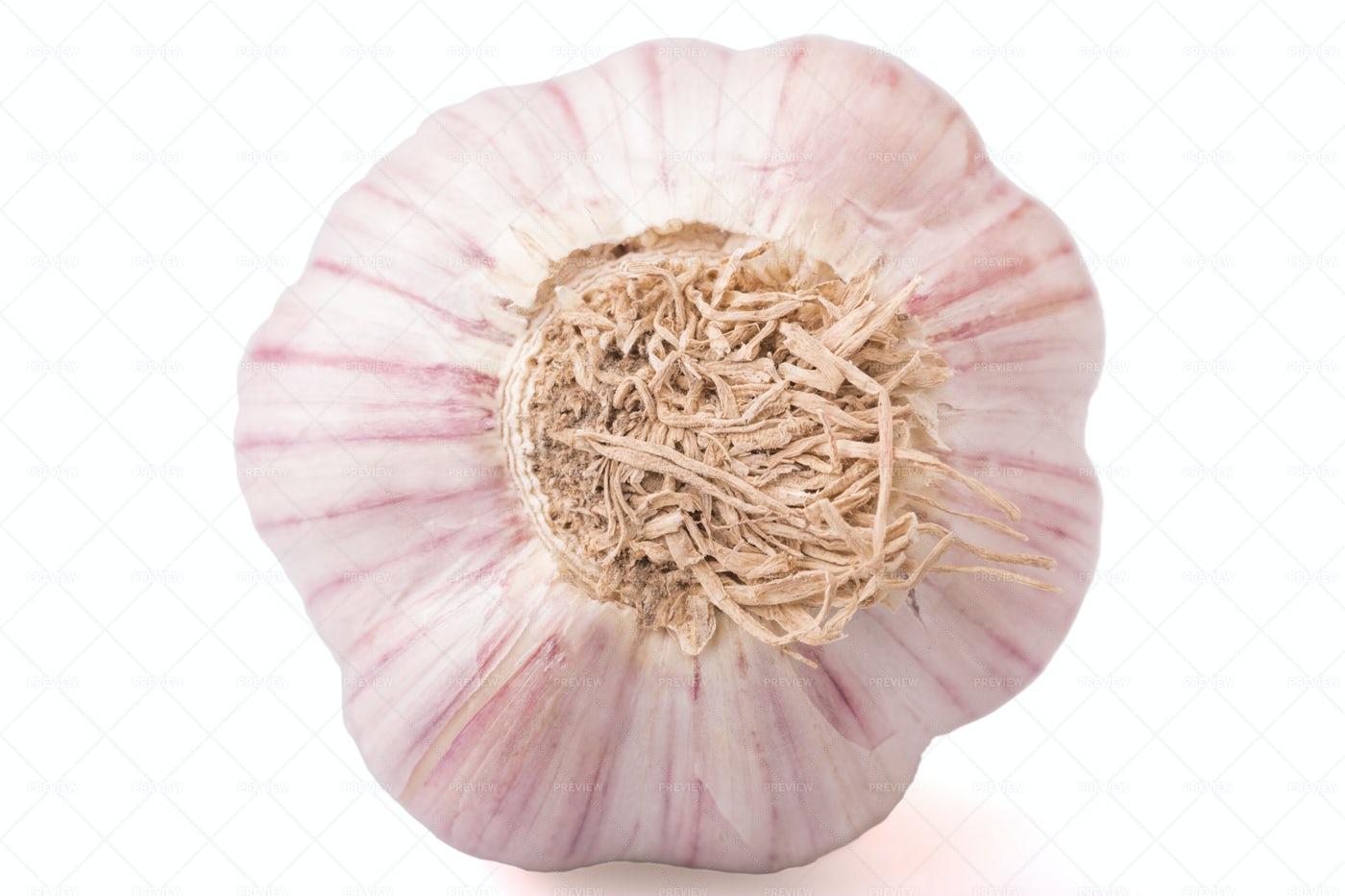 A Garlic Clove: Stock Photos