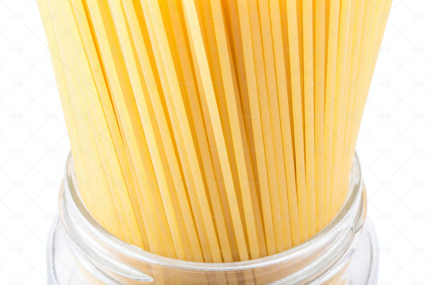 Spaghetti In A Jar: Stock Photos