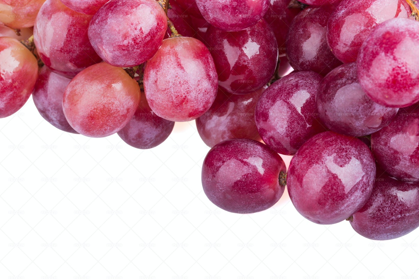 Bunch Of Red Grapes: Stock Photos