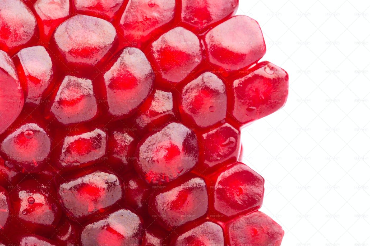 Pomegranate Seeds: Stock Photos