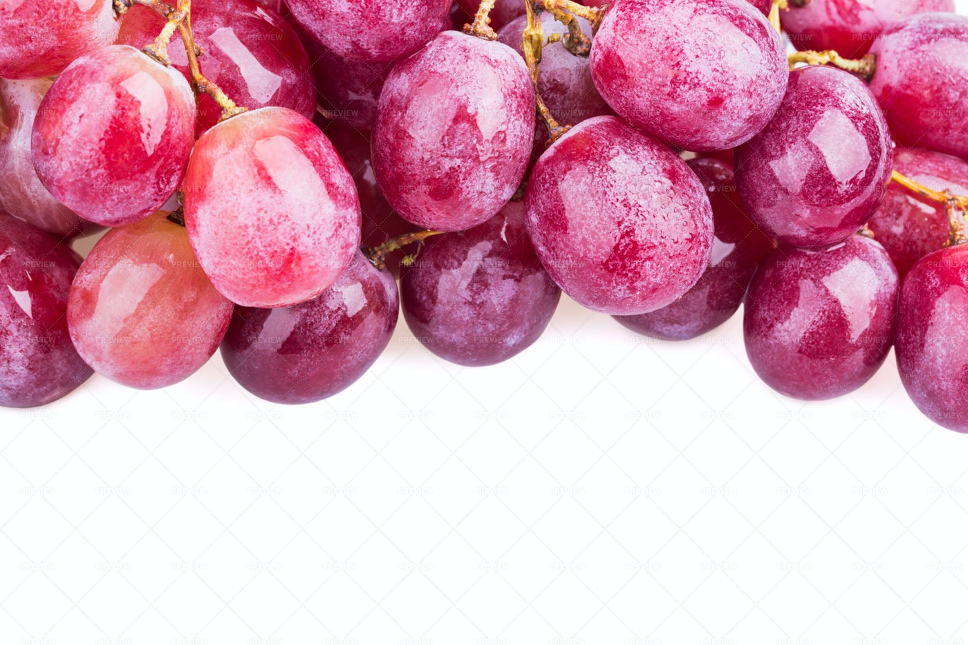 Red Grapes: Stock Photos