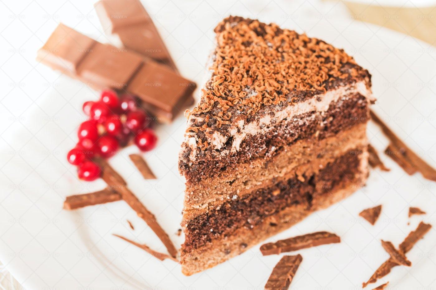 Chocolate Cake: Stock Photos