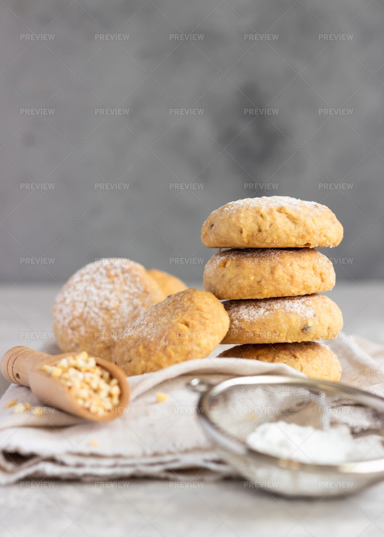 Stack Of Cookies: Stock Photos