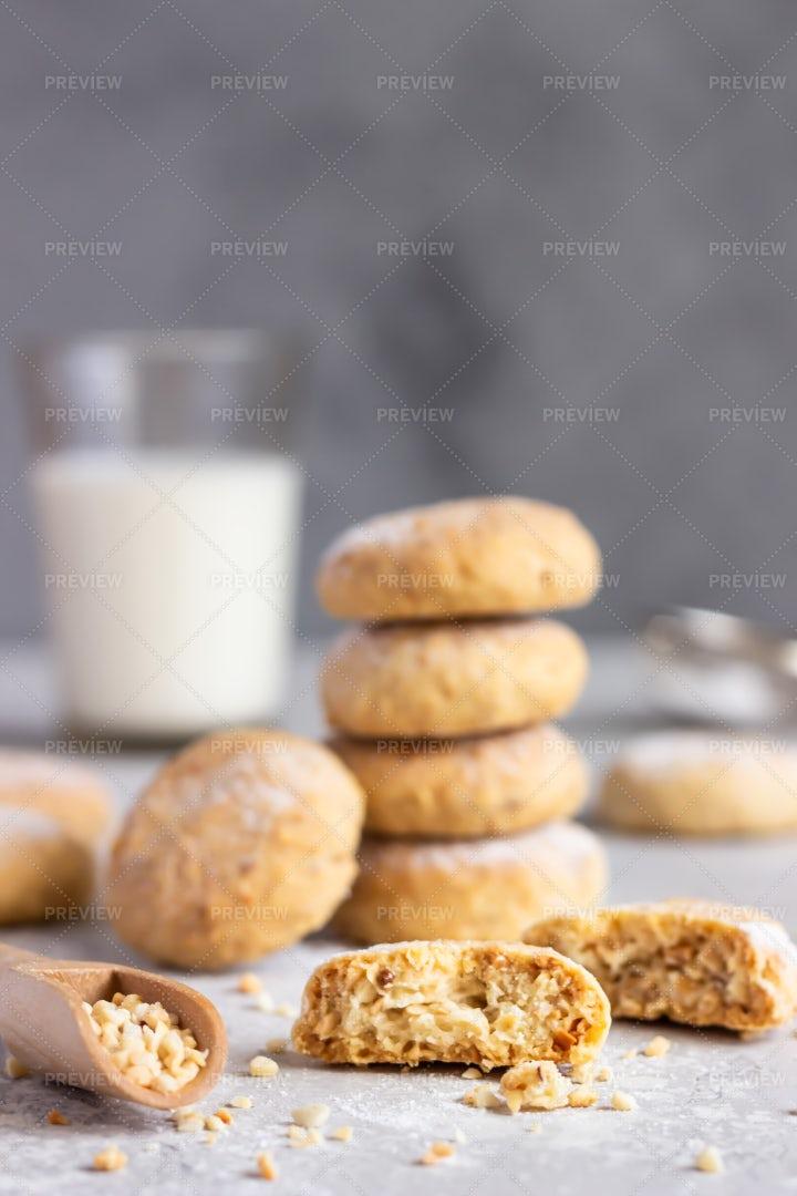 Fresh Butter Cookies: Stock Photos
