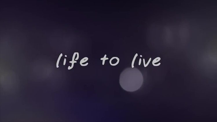 4K Life To Live: After Effects Templates