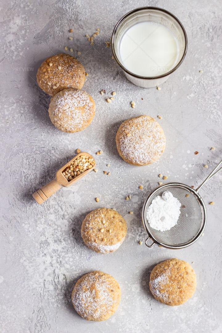 Butter Cookies: Stock Photos