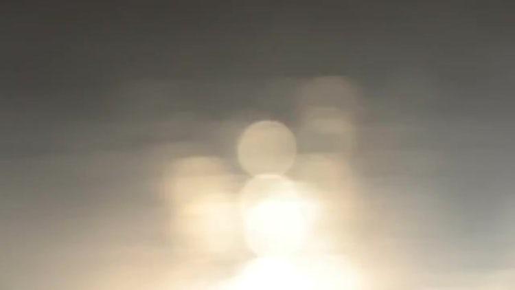 Soft Sunlight Water Bokeh: Stock Video