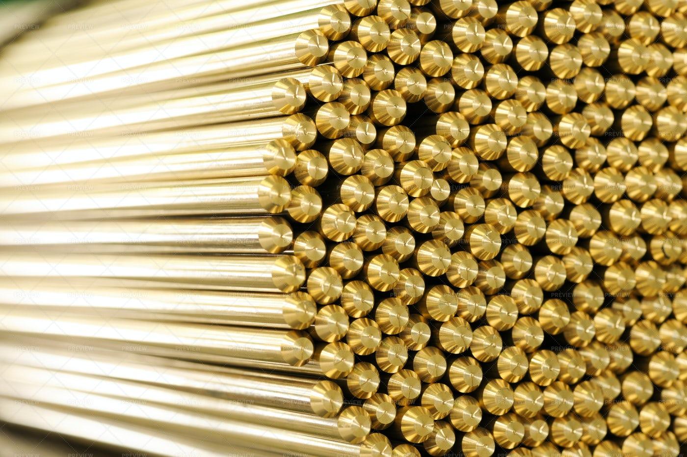 Brass Rods: Stock Photos