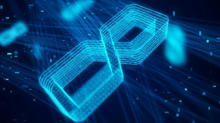 3D High-Tech Network Countdown: Motion Graphics