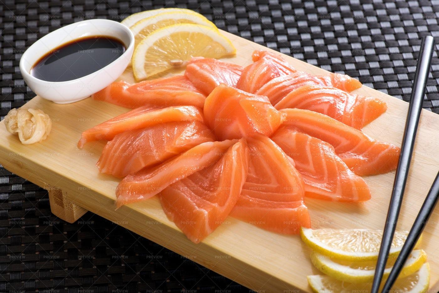 Sashimi Salmon: Stock Photos
