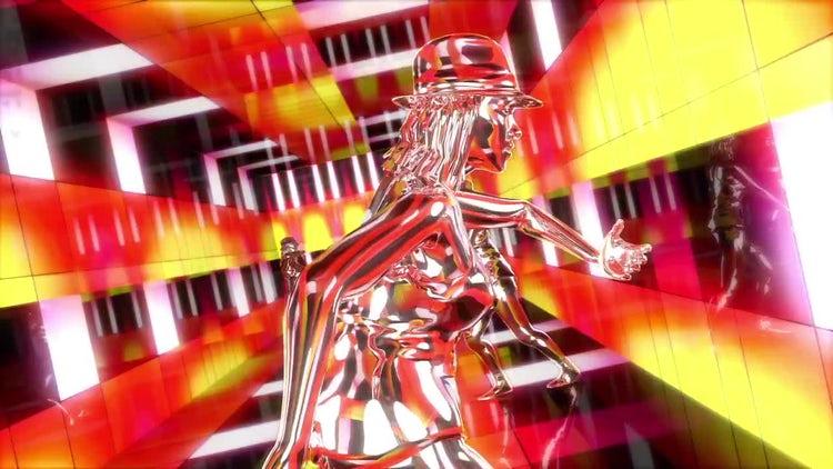 Dancing Girls VJ Loop: Motion Graphics