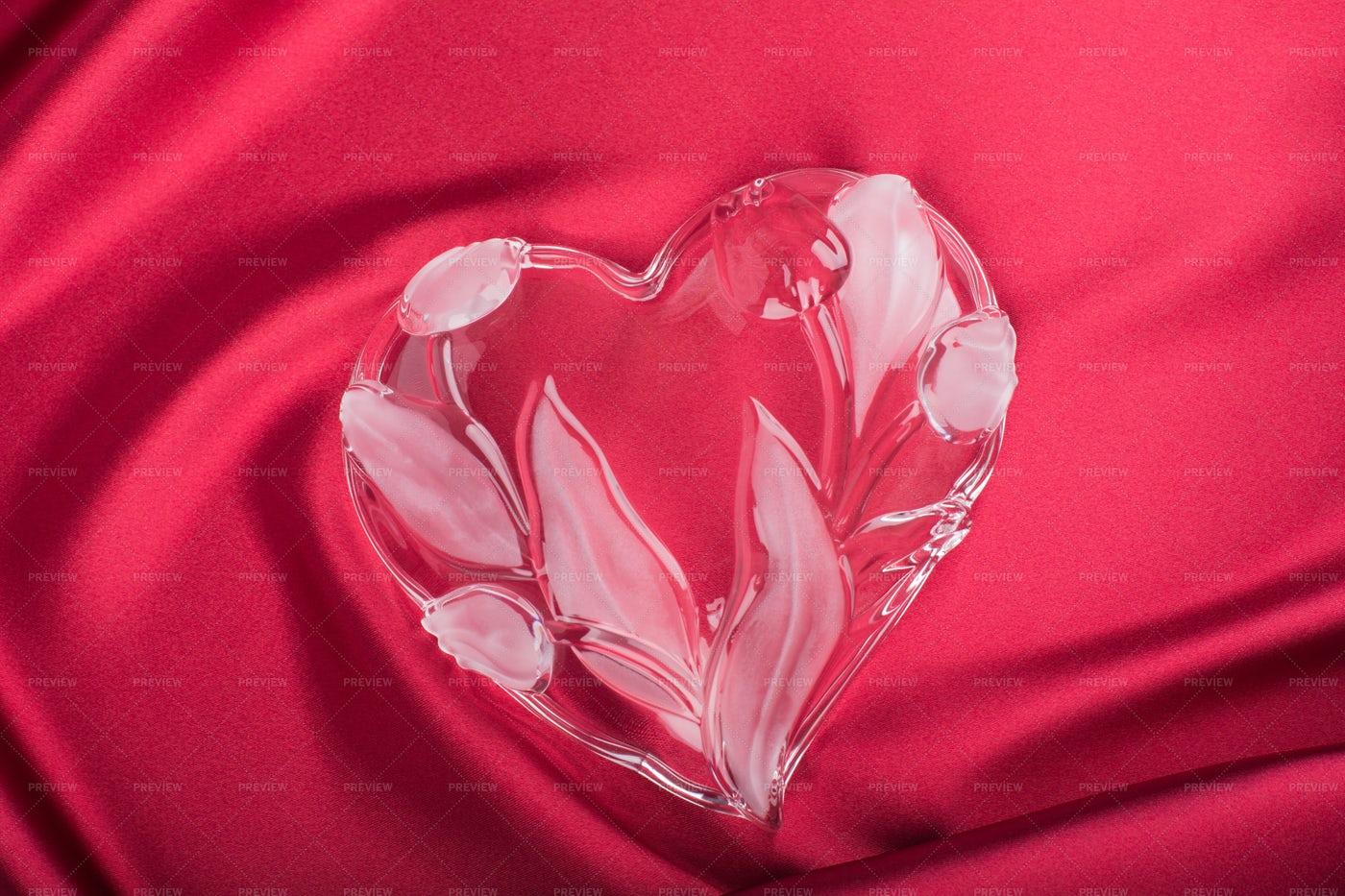Crystal Heart: Stock Photos