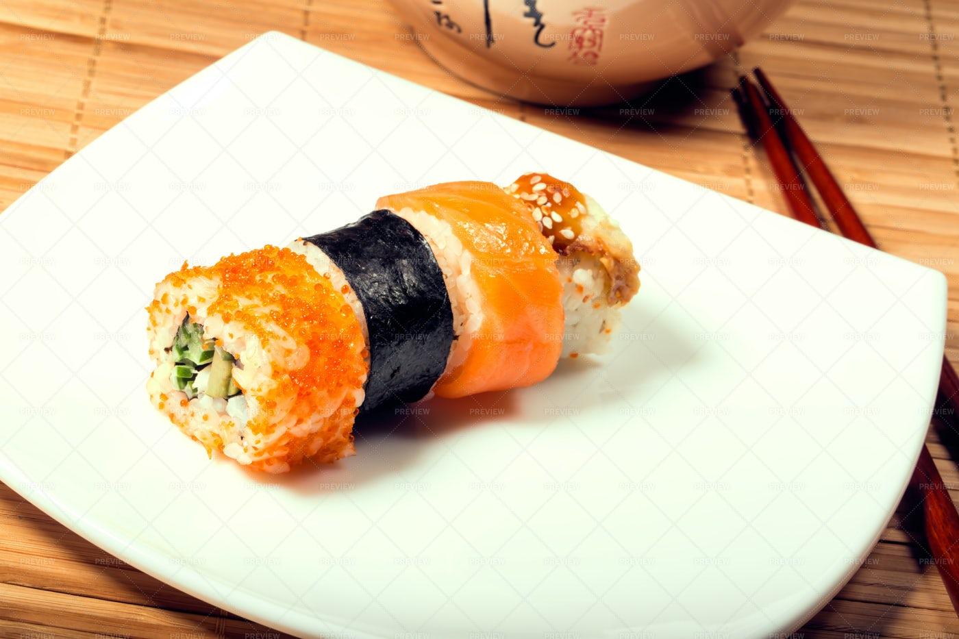 Sushi Maki: Stock Photos