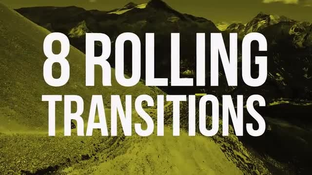 8 Rolling Transitions: Premiere Pro Templates