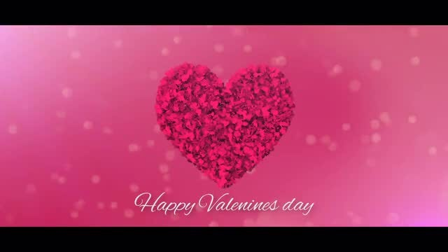 Happy Valentines Day Logo: Premiere Pro Templates