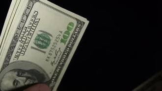 Counting Money: Stock Video
