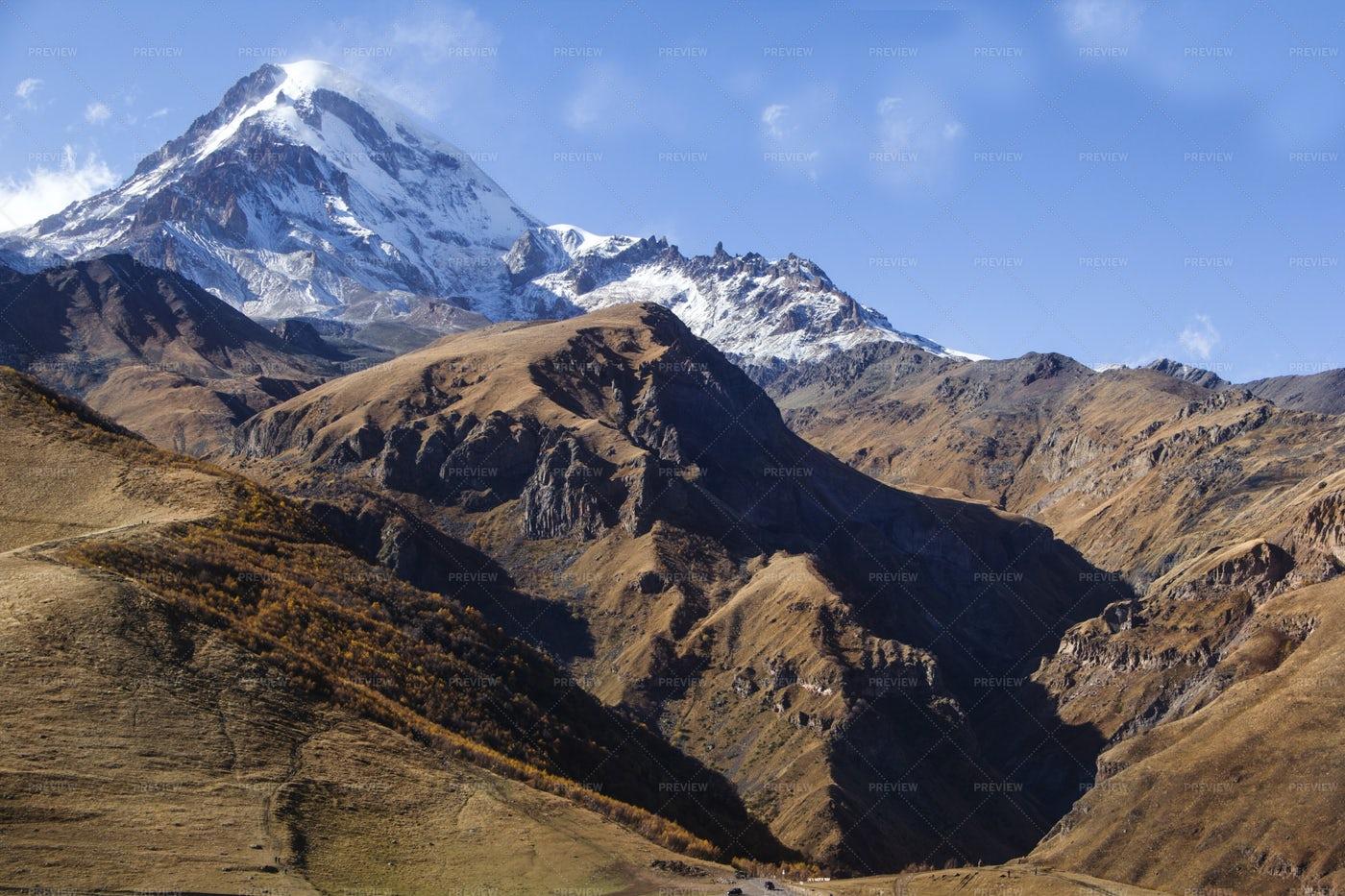 Views Of The Mountains: Stock Photos