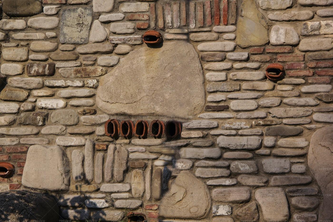 Old Stone Wall: Stock Photos