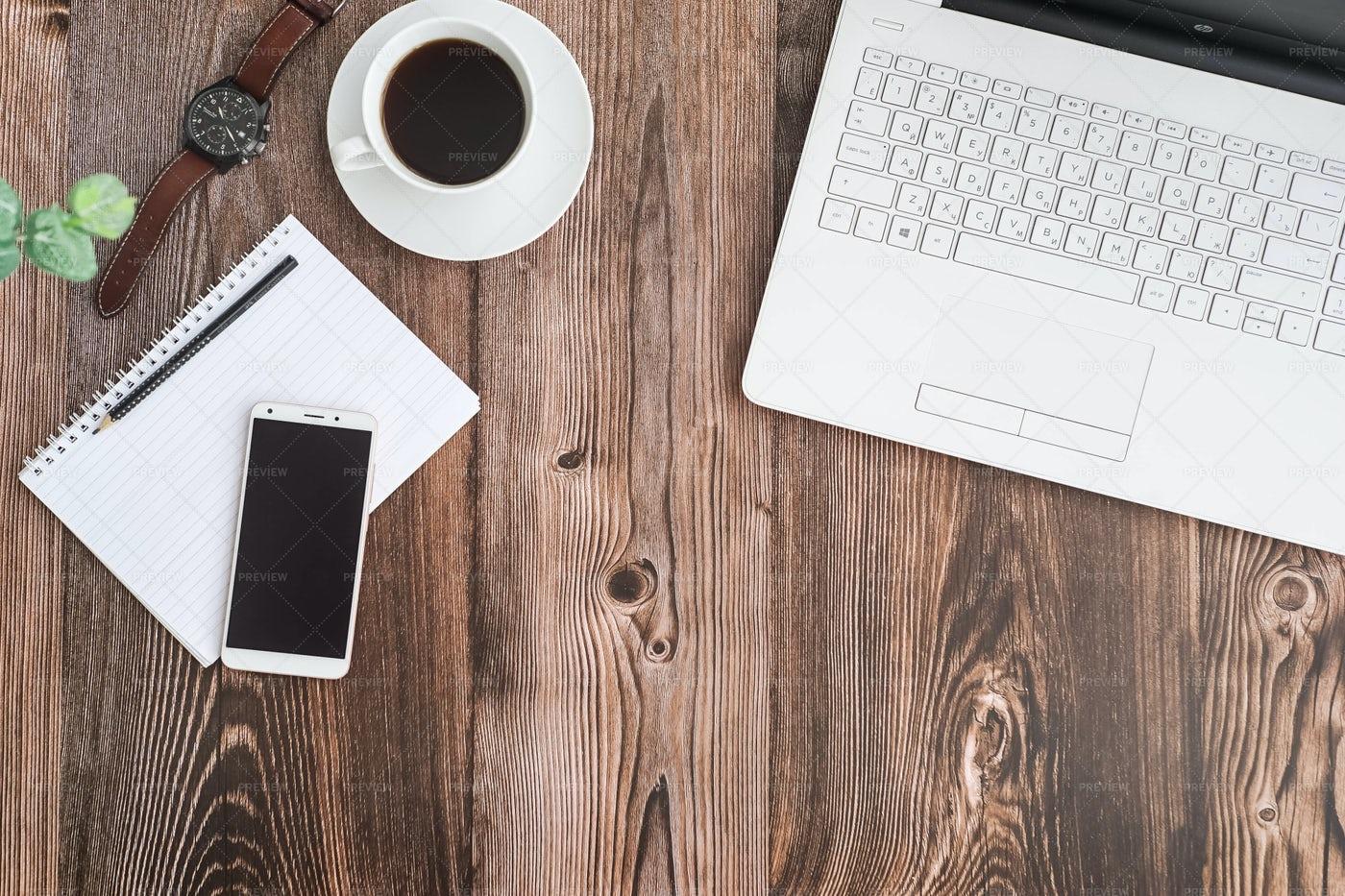 Freelancer's Area Of Work: Stock Photos
