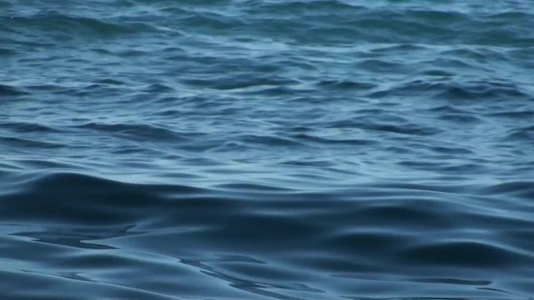 Sea Waves Water Background: Stock Video