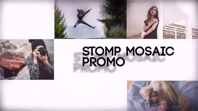 Stomp Mosaic Promo: After Effects Templates