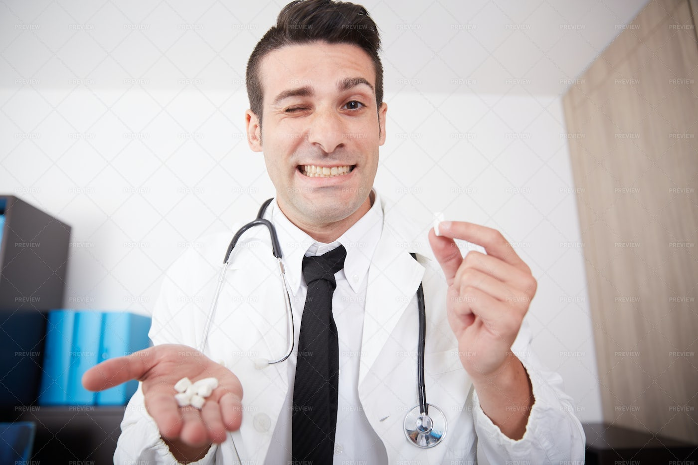 Doctor Recommending Medication: Stock Photos