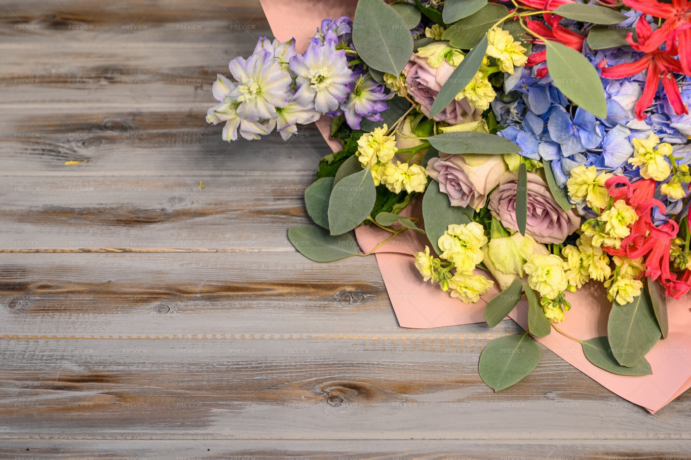Bouquet Of Roses: Stock Photos