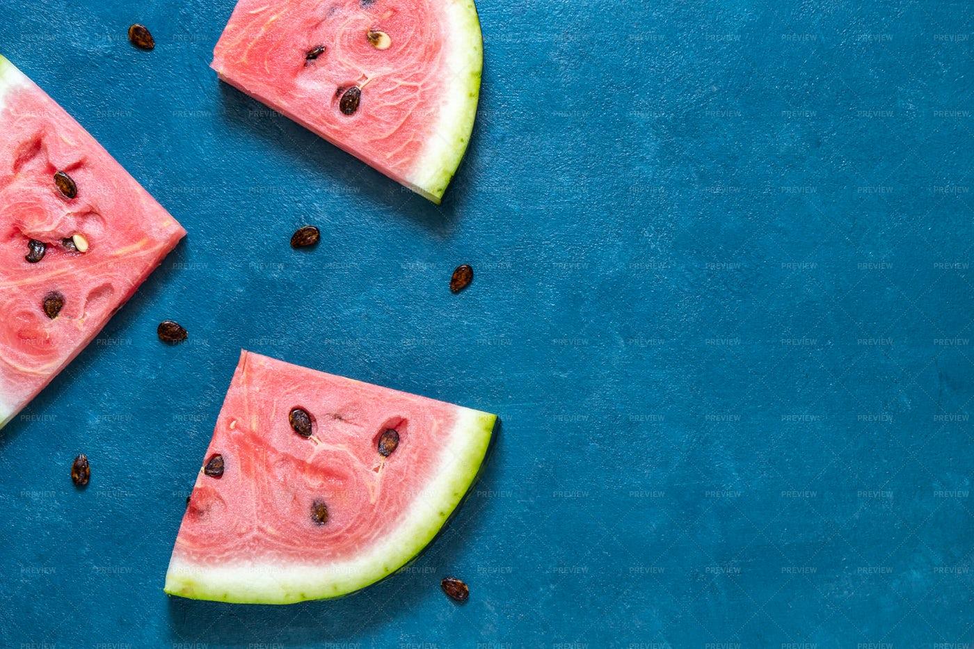 Watermelon Slices: Stock Photos