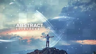 Abstract Slideshow: After Effects Templates