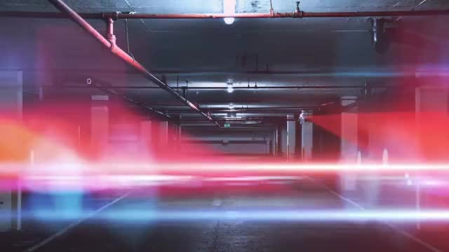 Police Light Transitions: Stock Motion Graphics