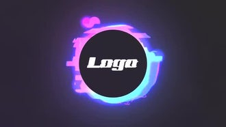 Futuristic Glow Logo: After Effects Templates