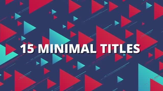 15 Minimal Titles: Premiere Pro Templates