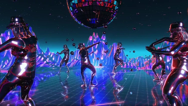 Dance Planet: Stock Motion Graphics