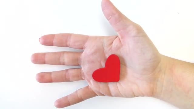 Heart In Hand: Stock Video