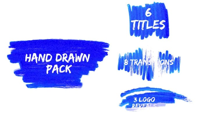 Hand Drawn Pack: Premiere Pro Templates